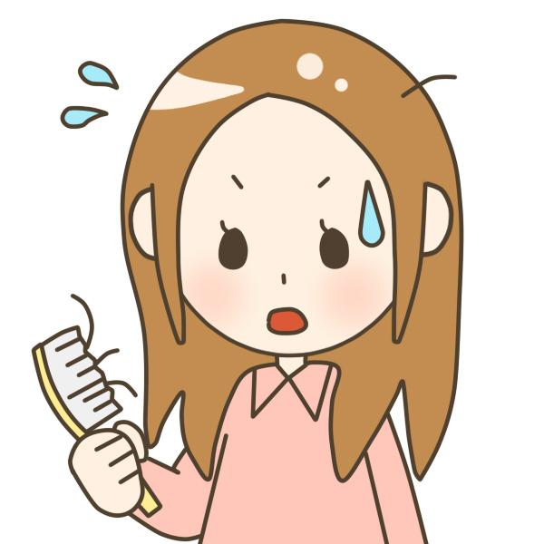 うわ!女の髪の薄毛。抜ける原因と改善方法でふんわり髪に
